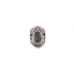 Anel Armazem RR Bijoux cristal prata