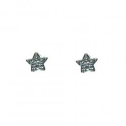 Brinco Infantil Armazem RR Bijoux estrela prata e dourado