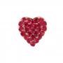 Broche Armazem RR Bijoux coração vermelho