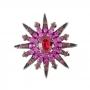 Broche Armazem RR Bijoux estrela pink