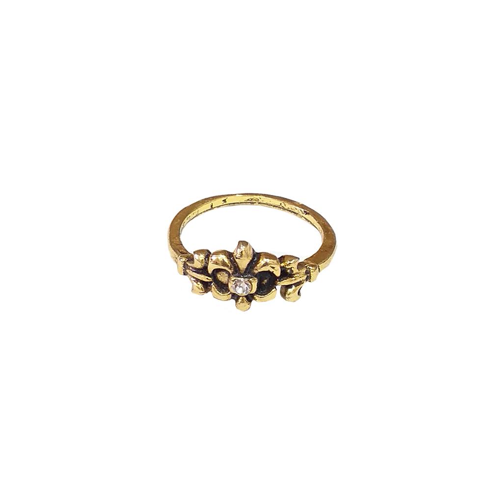 Anel Armazem RR Bijoux falange ouro vintage