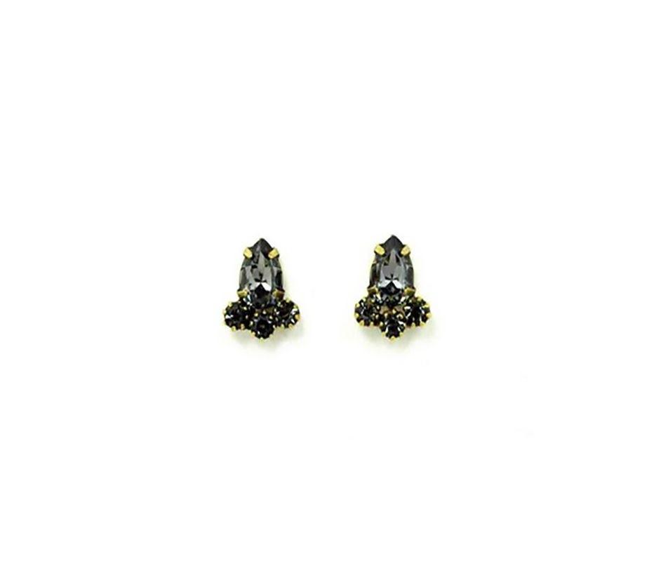 Brinco Armazem RR Bijoux gotinha com cristais