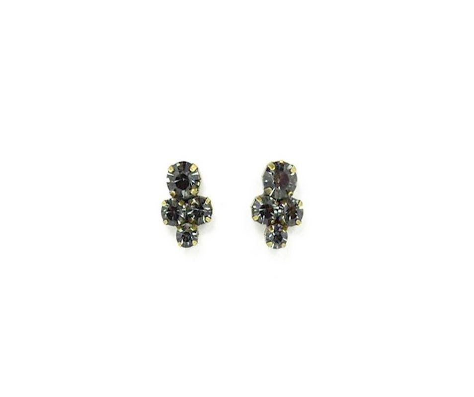 Brinco Armazem RR Bijoux mini cristais
