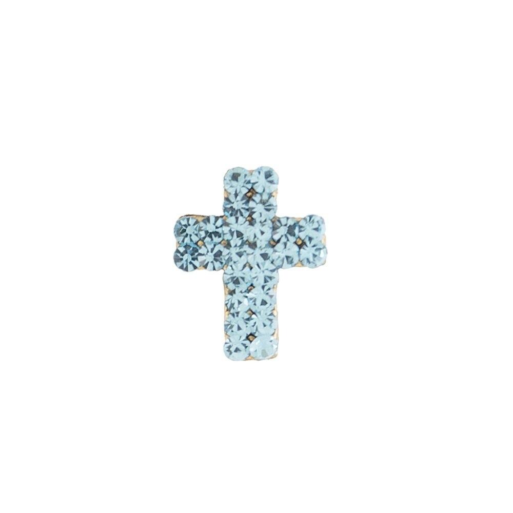 Broche Armazem RR Bijoux cruz azul