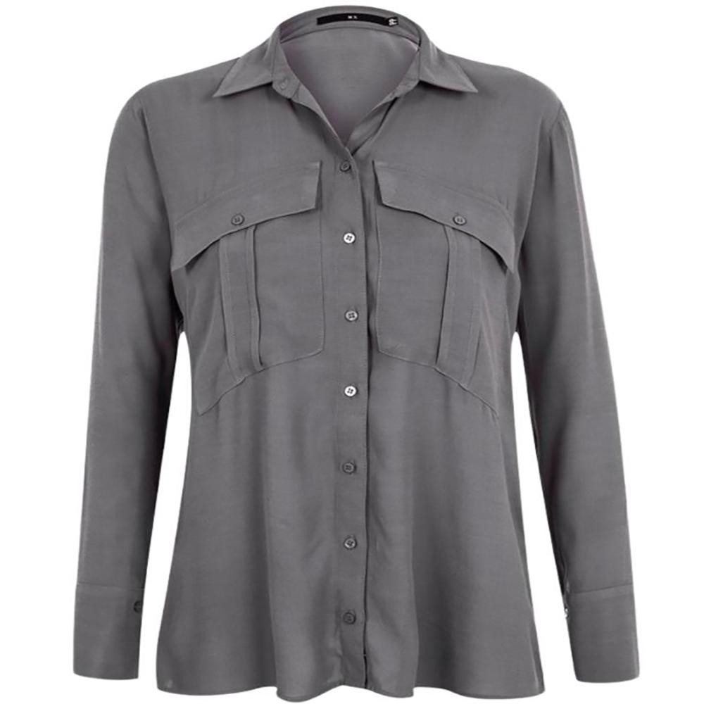 Camisa Armazem RR Closet com bolsos