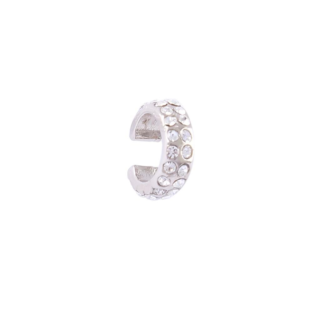 Piercing fake Armazem RR Bijoux critais prata