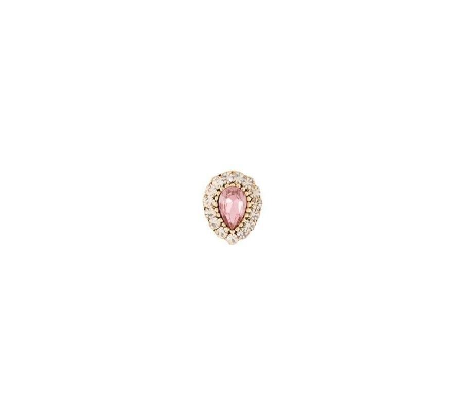 Pin Armazem RR Bijoux gota rosa