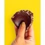 Ovo de Choco70% com café, caramelo crocante e castanha de caju - 270gr