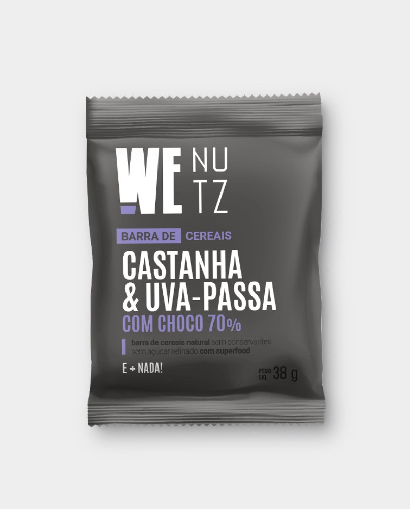 Castanha, Uva-Passa & Chocolate