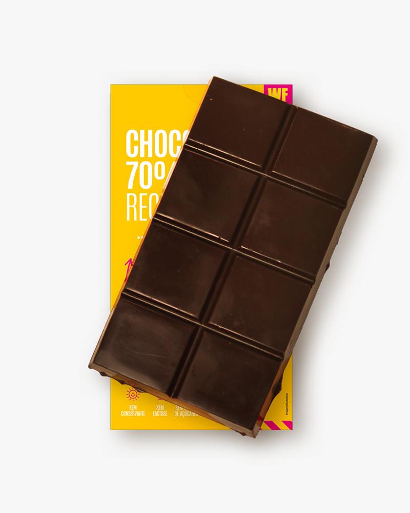 ChocoNutz 70% - Banana e Amendoim