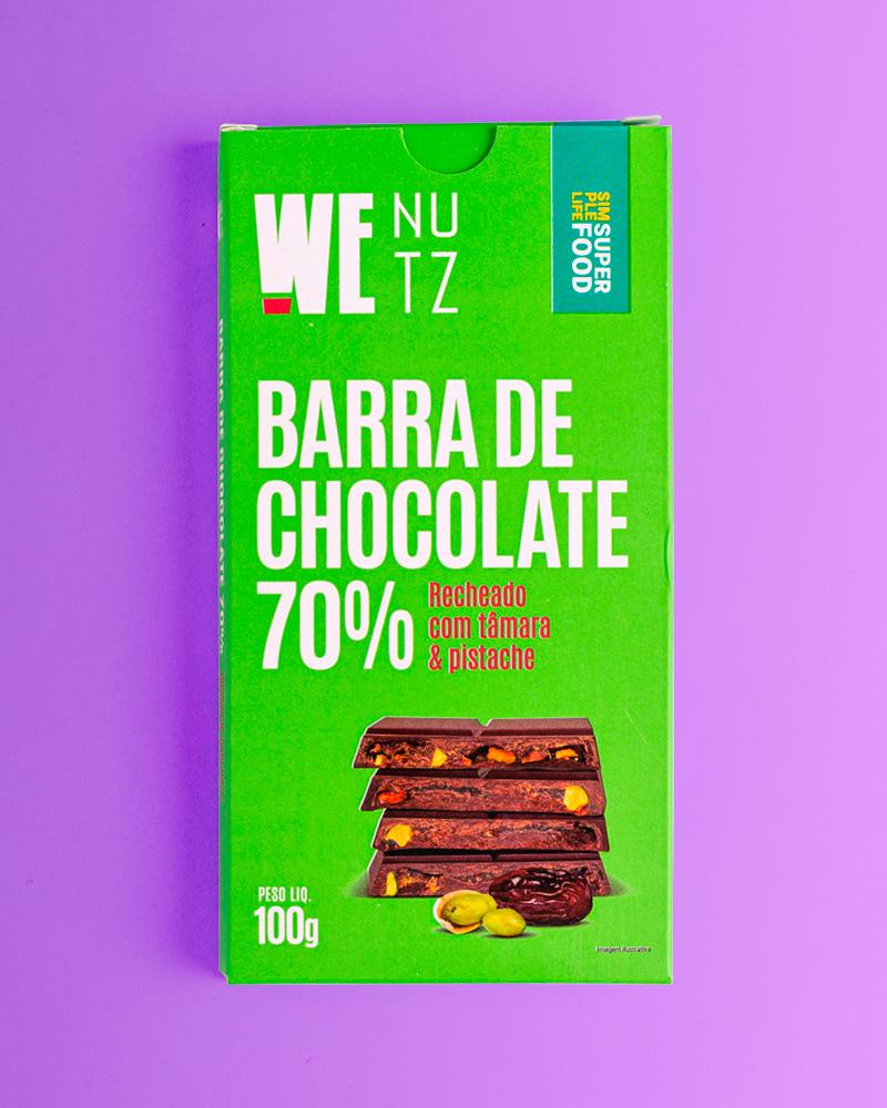 ChocoNutz 70% - Tâmara e Pistache