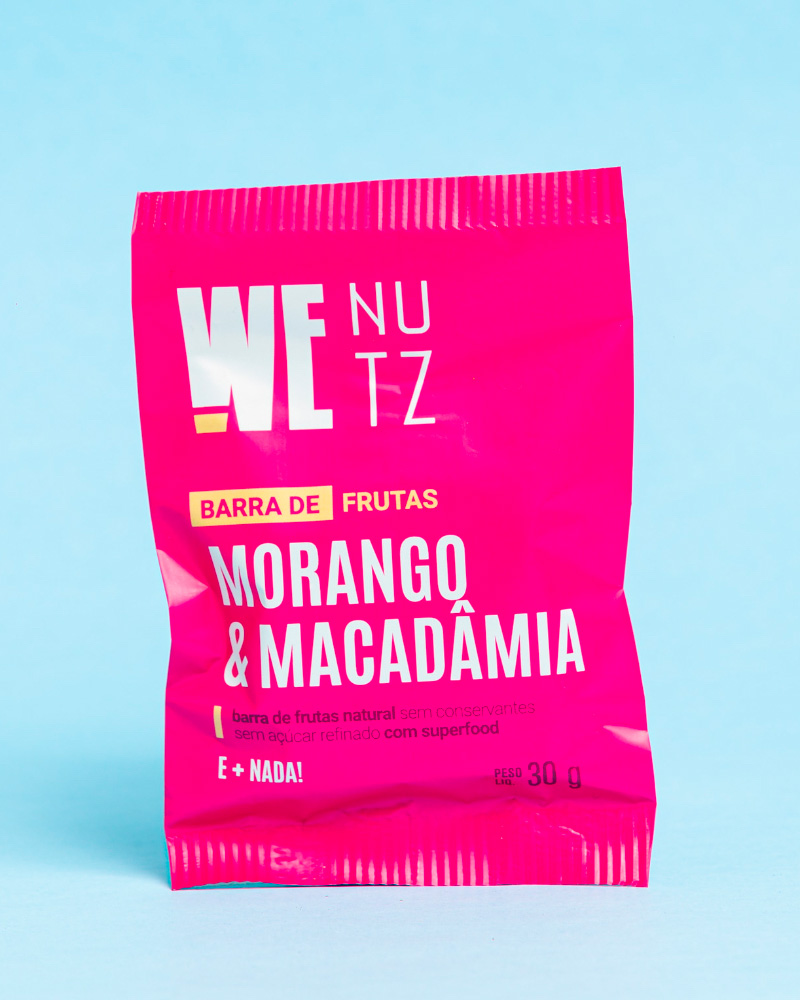 Morango & Macadâmia