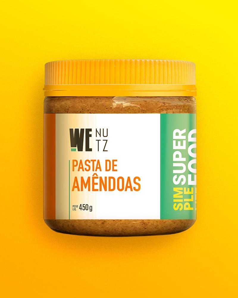 Pasta de Amêndoas 450g