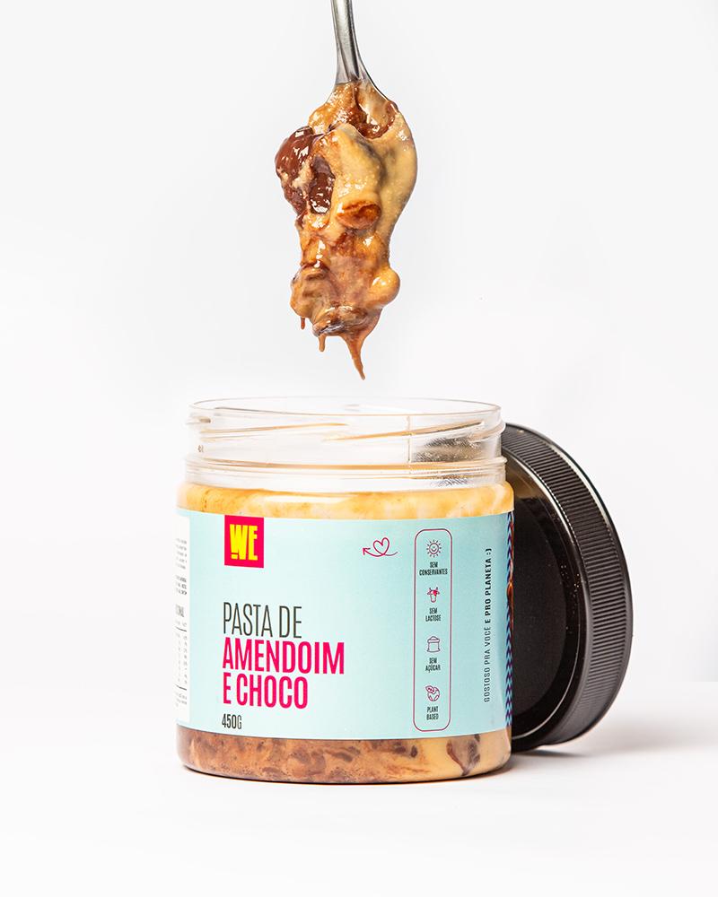 Pasta de Amendoim com Chocolate 70%
