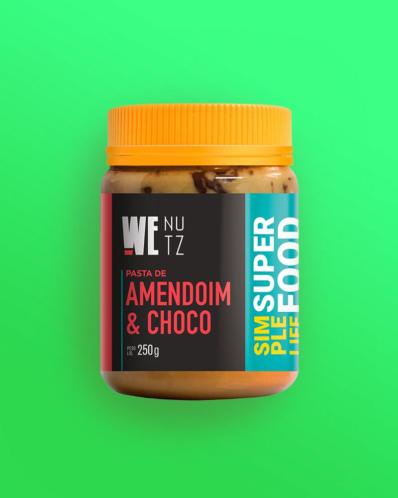 Pasta de Amendoim com Chocolate 70% - 250g