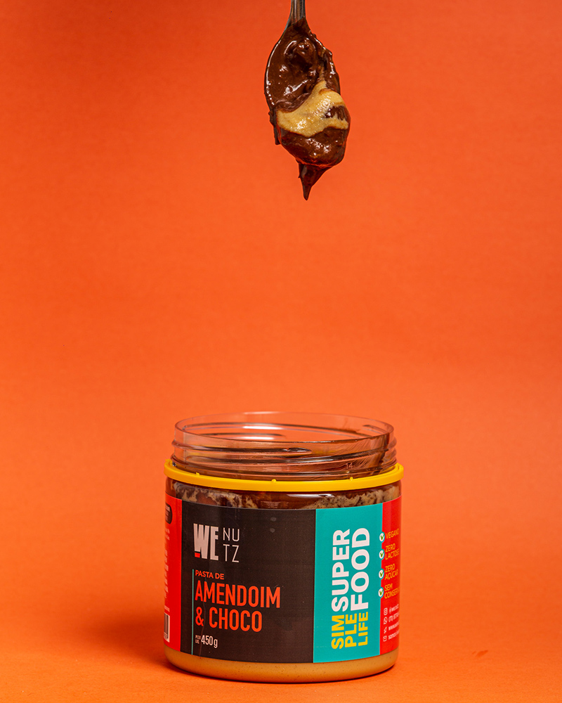 Pasta de Amendoim com Chocolate 70% - 450g