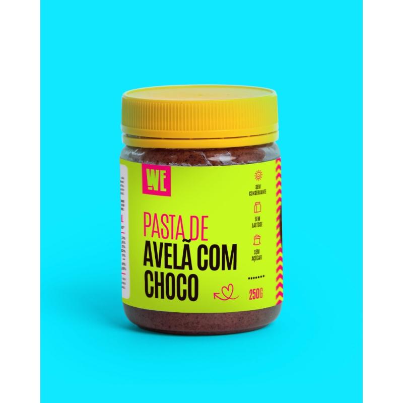 Pasta de Avelã com Chocolate - 250gr