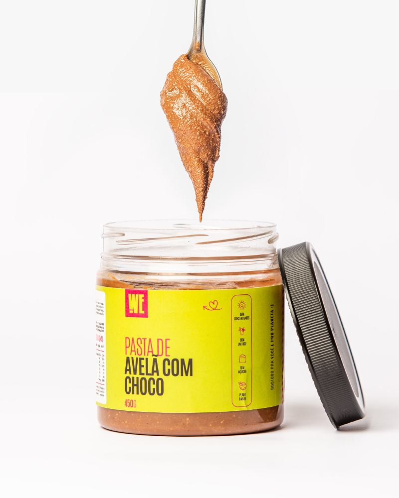 Pasta de Avelã com Chocolate