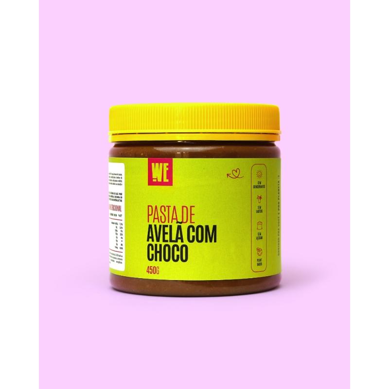 Pasta de Avelã com Chocolate - 450gr