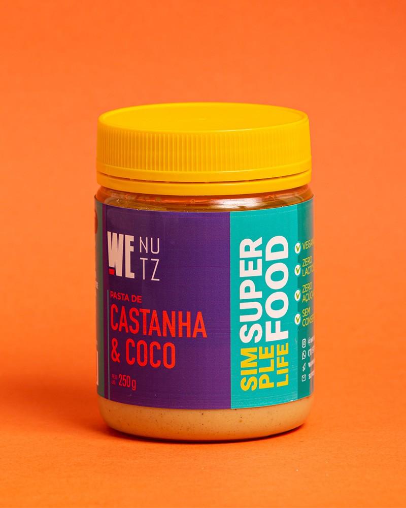 Pasta de Castanha de Caju & Coco - 250g