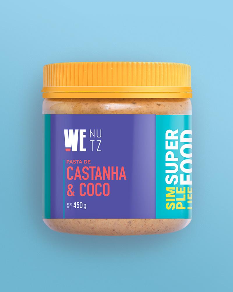 Pasta de Castanha de Caju & Coco 450g