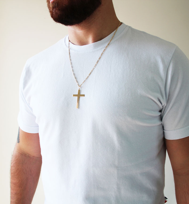 PINGENTE CRUZ JESUS  - Serzzare