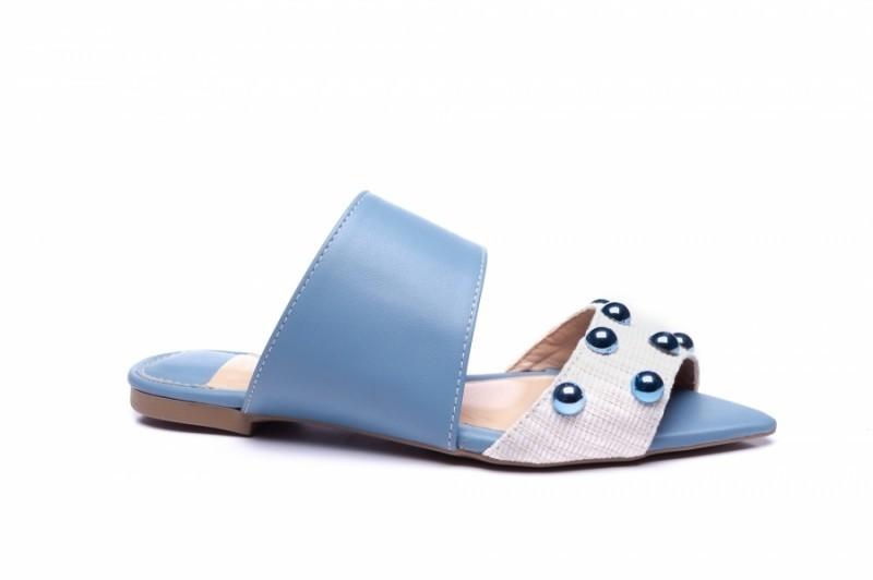 Mule Fashion Blue