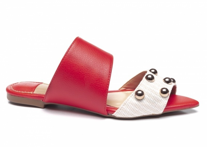 Mule Fashion Red