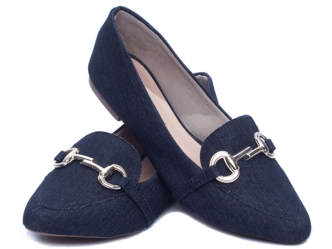 Sapatilha Feminina Torricella Jeans