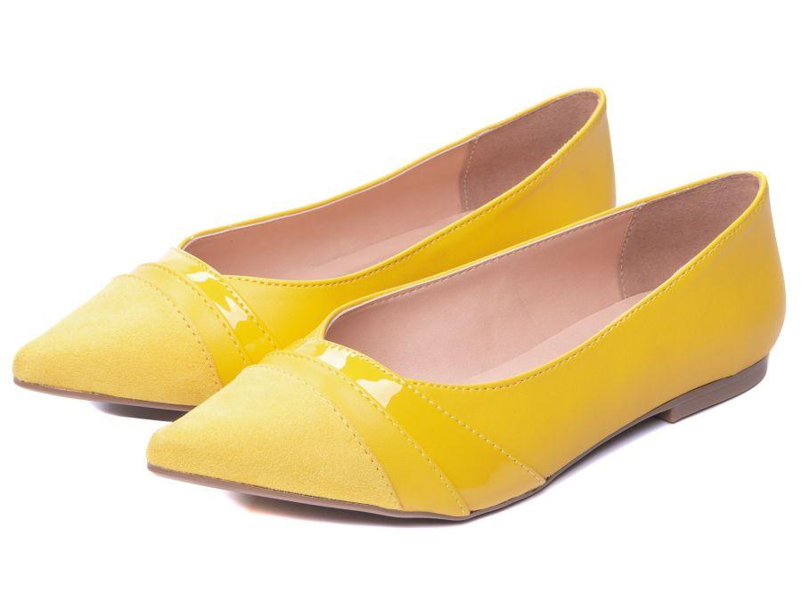 Sapatilha Feminina Amarelo Torricella