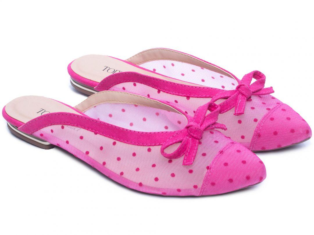 Sapatilha Mule Pink Torricella