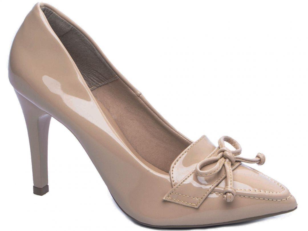 Sapato Scarpin Bege Torricella 1625-90C