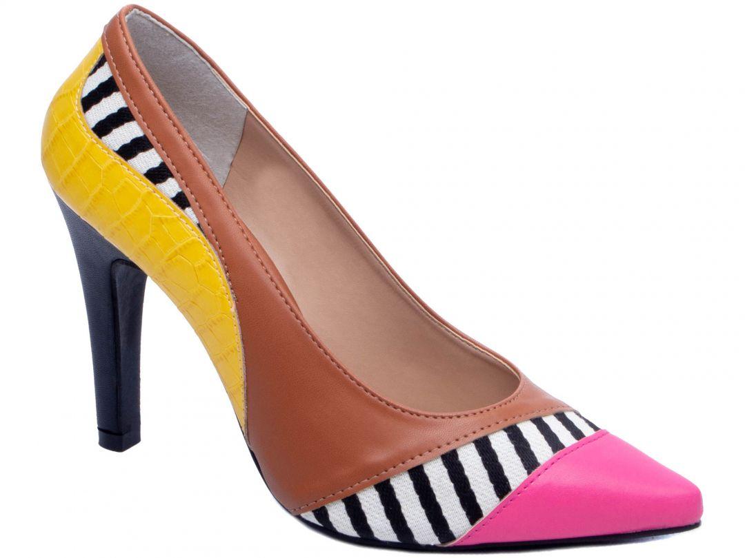 Sapato Scarpin Pink Torricella 65099C