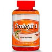 Ōmega 3 Óleo de Peixe de 1000 mg com 250 capsulas - Promel