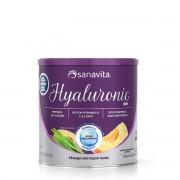 Hyaluronic Skin - Pêssego com Capim Santo - Lata 300 gramas  - Sanavita