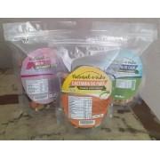 Kit de Castanha do Para, Castanha de Caju e Mix de Castanhas e Frutas com 250 Gramas cada