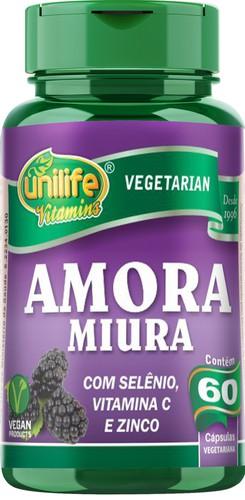 Amora Miura com vitaminas 60 capsulas de 500 mg.
