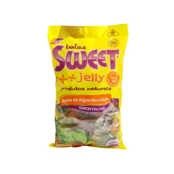 Balas de Algas Marinhas 500 gramas - Sweet Jelly