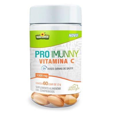 Pro Imunny - vitamina C 1000 mg 60 Capsulas - Sunflower