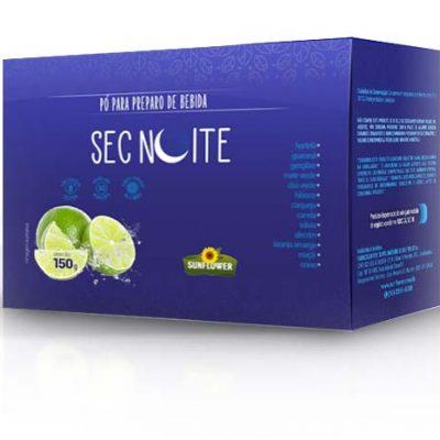 Sec Noite - sachê sabor Limão caixa com 30 sachês 150 gramas