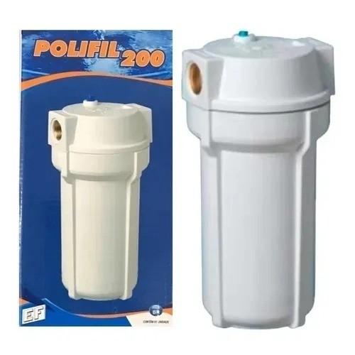 Filtro Externo POLIFIL 200 BRANCO (Com Refil)