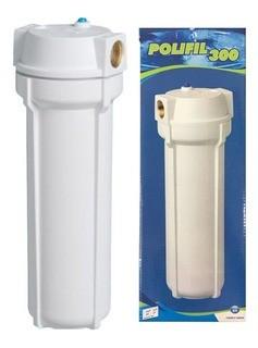 Filtro Externo POLIFIL 300 BRANCO (Com Refil)