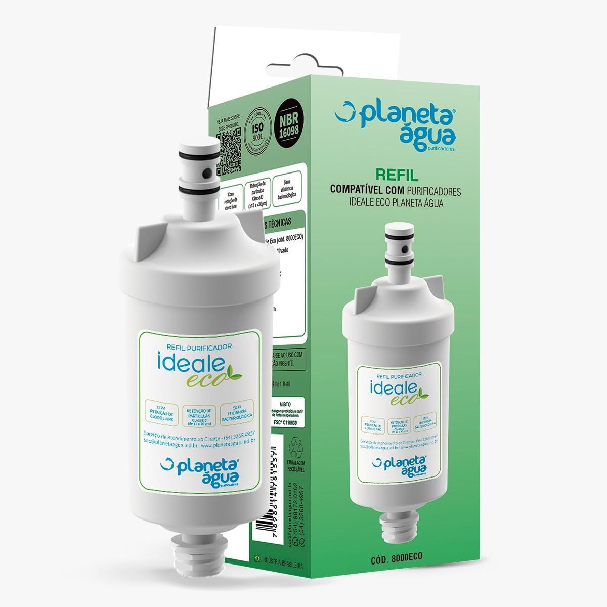 Refil IDEALE ECO para purificadores Ideale ECO e linha ECO Decor - Original