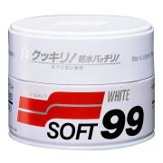 Cera de Carnaúba para Carros Brancos White Wax Cleaner 350g Soft99