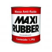 Massa Anti-Ruido Preta 1,3kg Maxi Rubber