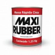 Massa Rápida Cinza 1,25kg Maxi Rubber