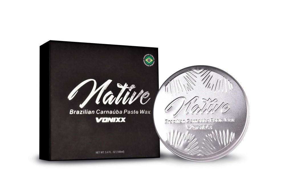 Cera De Carnaúba Premium Native Paste Wax 100g Vonixx