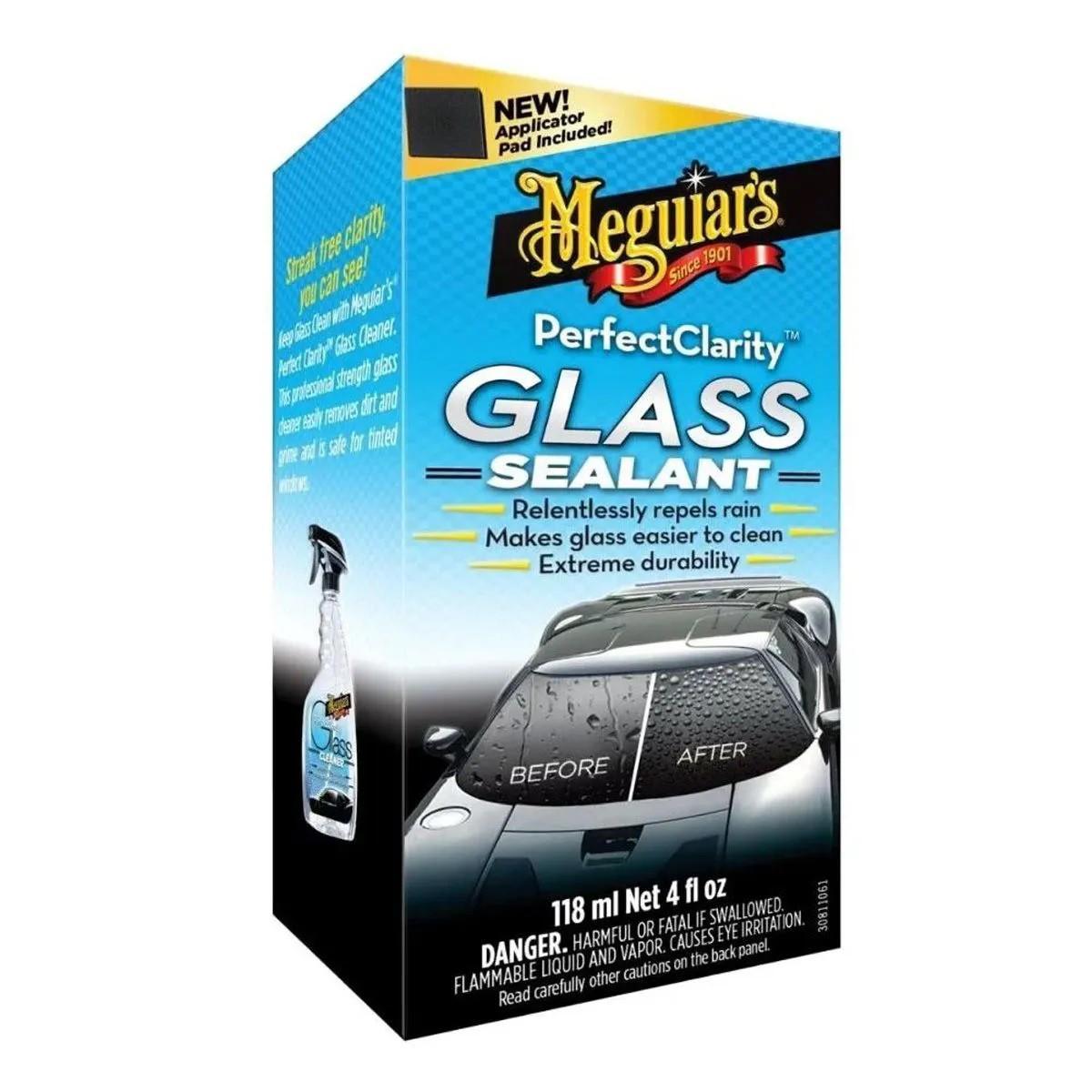 Cristalizador De Vidros Clarity Glass Sealant 118ml - Meguiars