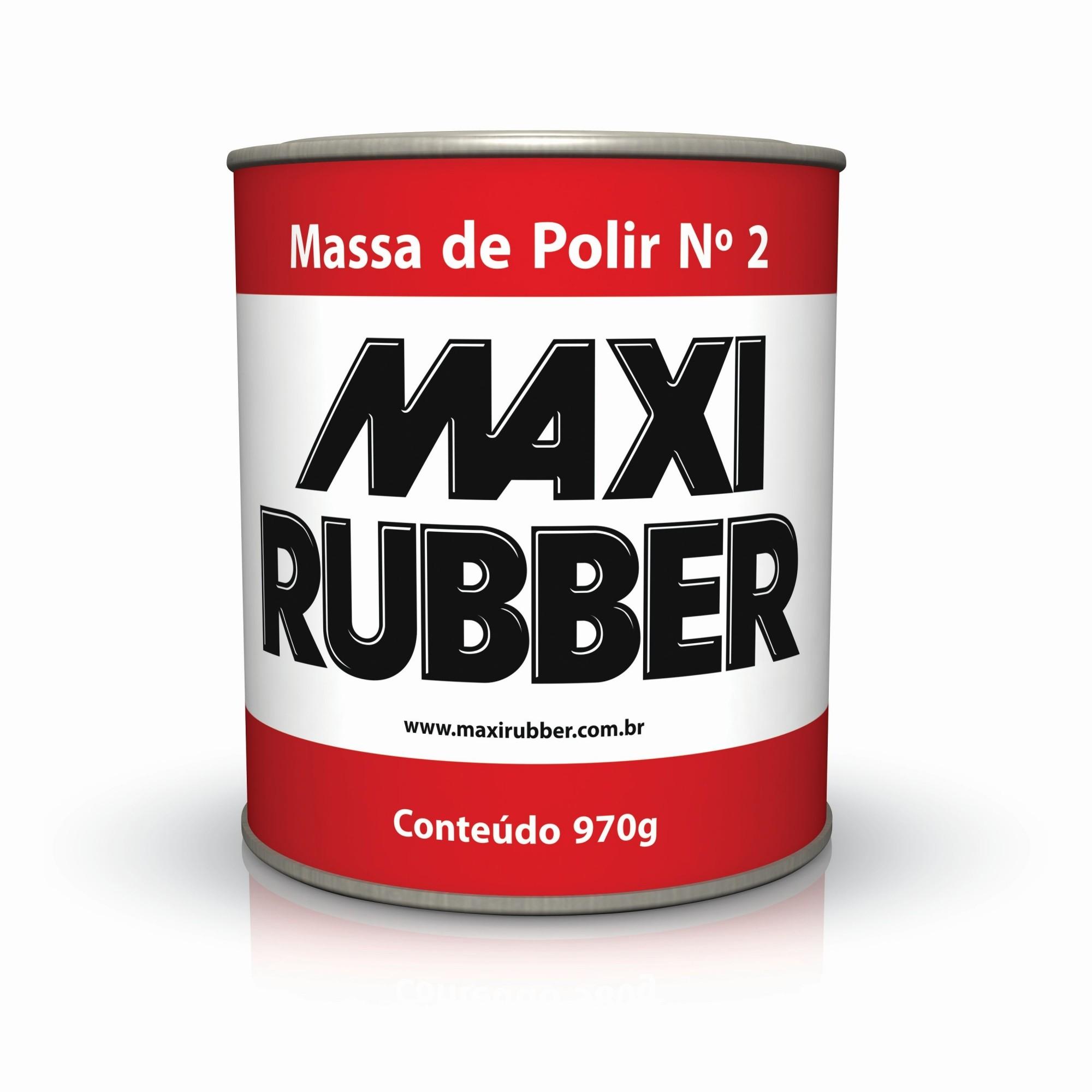 Massa de Polir N°2 970kg Maxi Rubber