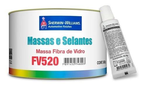Massa Poliéster Fibra de Vidro FV520 800g Sherwin-Williams